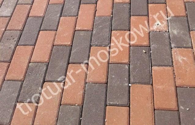 Стоимость тротуарной плитки и ее укладки за 1 м2