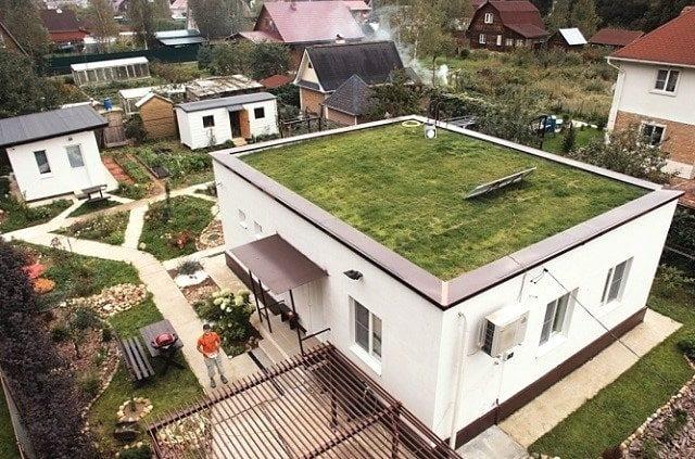 Плоская крыша для частного дома: стоит ли или нет?