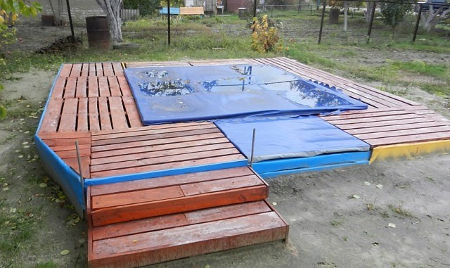 Сделать бассейн на даче — просто! Супер идеи простых бассейнов
