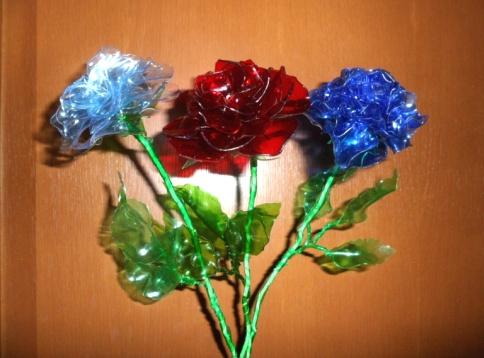 Цветы из пластиковых бутылок для сада и дачи своими руками