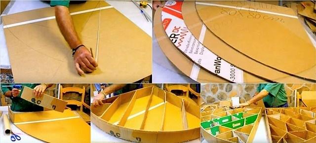 Камин из коробок своими руками: 15 идей и 3 мастер-класса с пошаговыми инструкциями