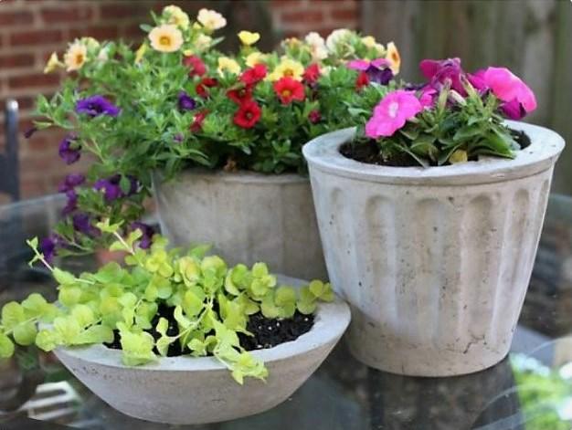 Поделки из цемента для сада: более 20 идей, инструкции и мастер-классы