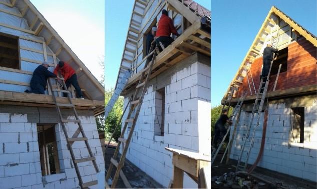 Ремонт, отделка и обустройство свежепостроенного дачного дома с мансардой