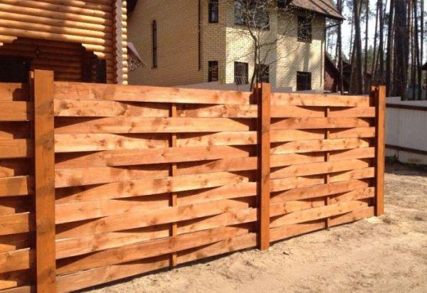 Забор из досок - фото и описание вариантов, как сделать своими руками